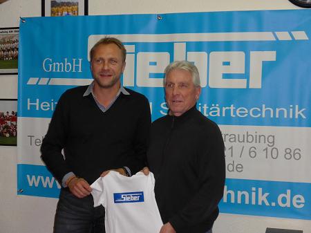 Robert Sieber und Klaus Fischer